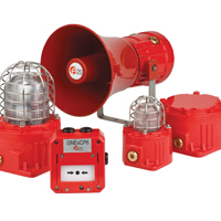E2S showcases its globally approved hazardous area warning signals at OTC