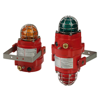 The latest Explosion Proof LED beacons have enhanced output and field-replaceable colour lenses.
