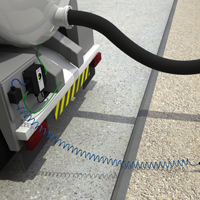 Static Earthing Protection for Vacuum Tankers